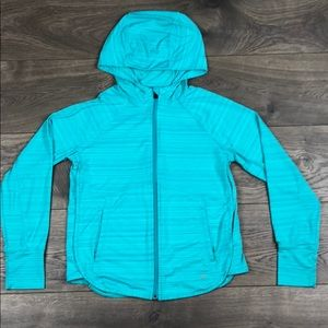 Athleta Girls Zip Up Athletic Hoodie (Size 12)